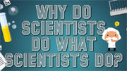 Why do scientists do what scientists do?