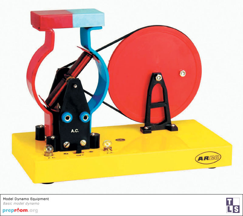 Model Dynamo Science Equipment Used In School And