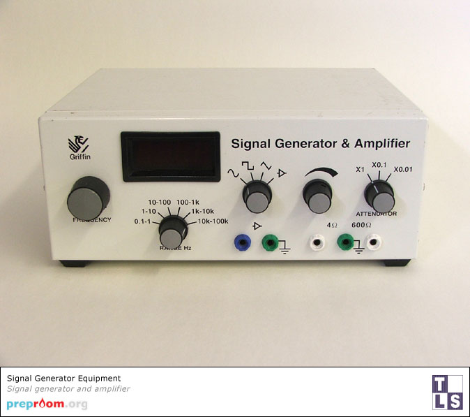 Signal Generator (Tone Generator) - Science Equipment used