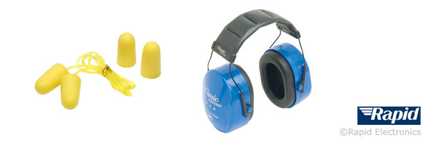 Foam ear plugs and ear defenders
