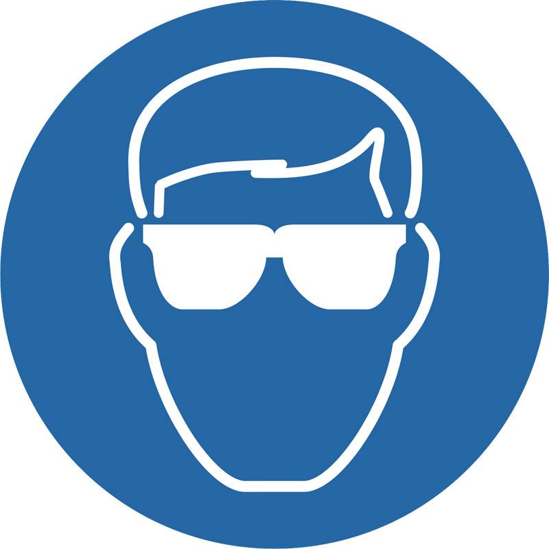 Preproom Org Mandatory Signs Wear Eye Protection