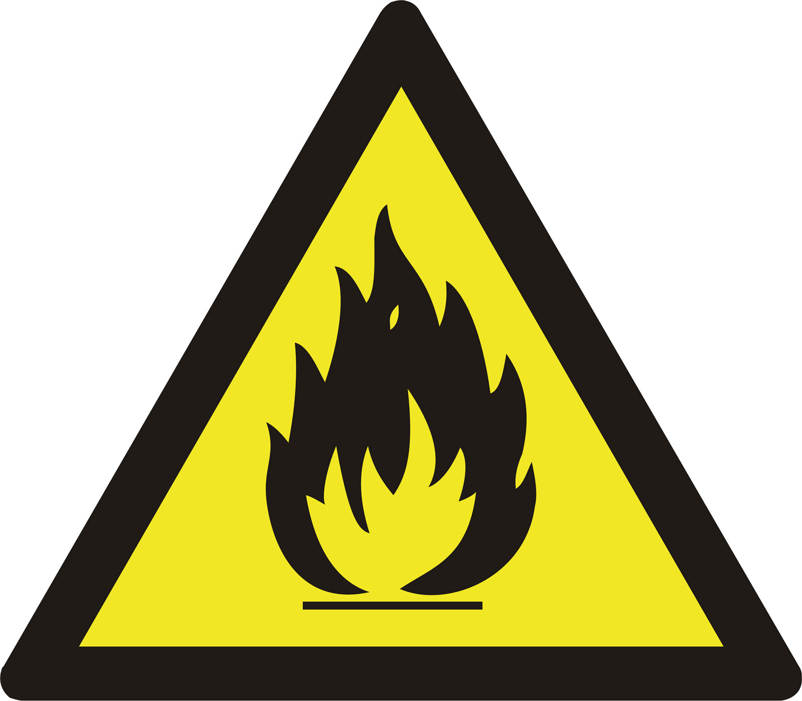 Preproomorg Warning Signs Highly Extremely Flammable
